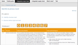 Supporting integrated collaborative working - Integrated project team workbook - thumbnail view